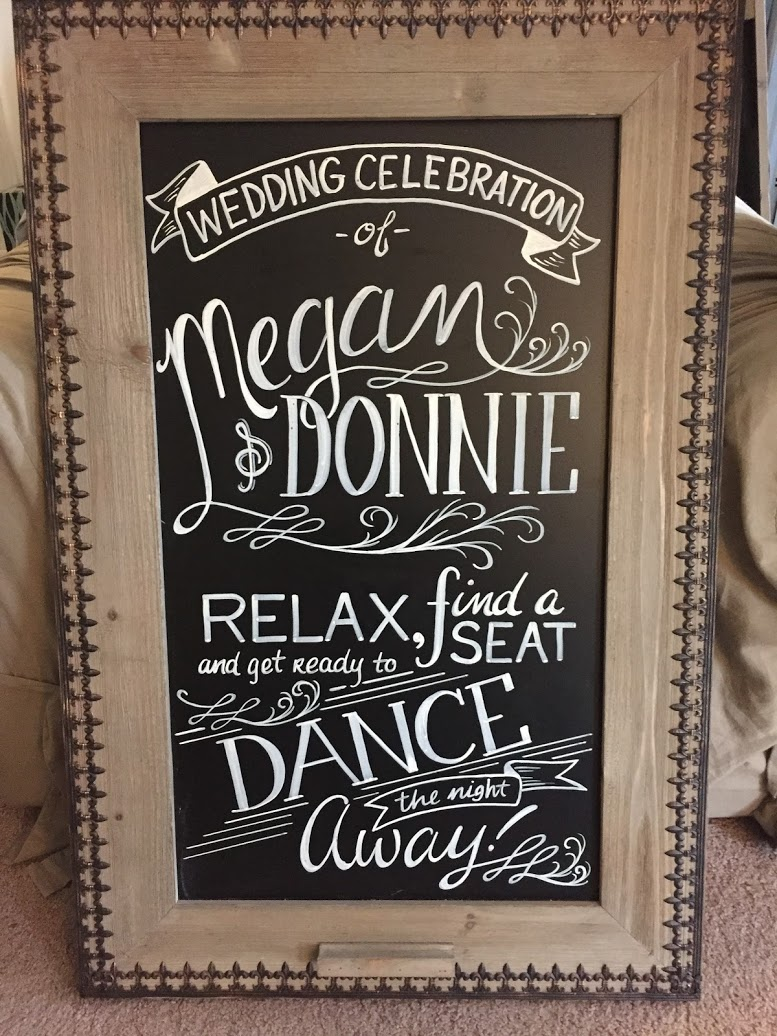 Wedding Chalk