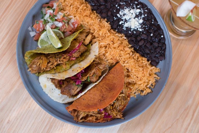 Trio of Enchiladas