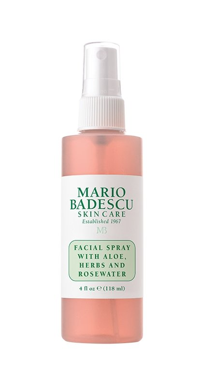 Refresh + Wake Up - And of course, any new backpack needs to be filled with some favorite beauty products and Urban Decay and Mario Badescu have just that. Mario Badescu's facial spray with aloe, herbs, and rosewater is the perfect product to wake you up on the early weekday mornings. Not only is this product perfect for boosting moisture and glow, but it is also cruelty-free!