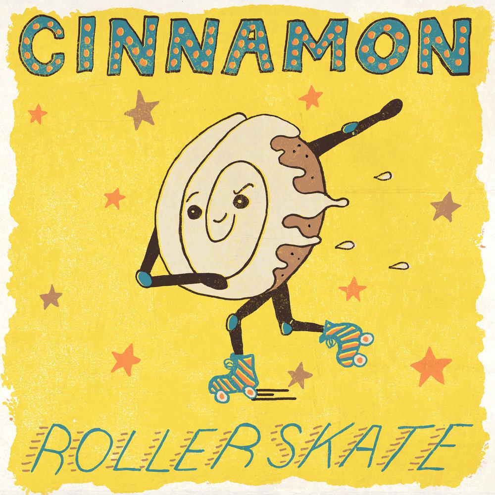 Cinnamon Rollerskate
