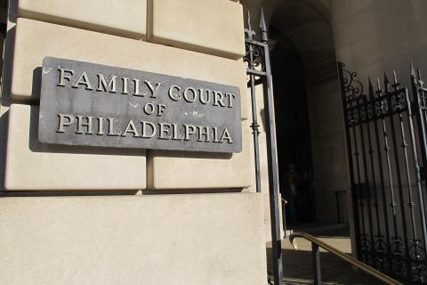 Juvenile cases are heard in Philadelphia Family Court