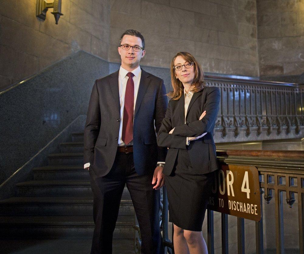 Philadelphia Criminal Defense Lawyers Zak T. Goldstein, Esq. and Demetra Mehta, Esq.