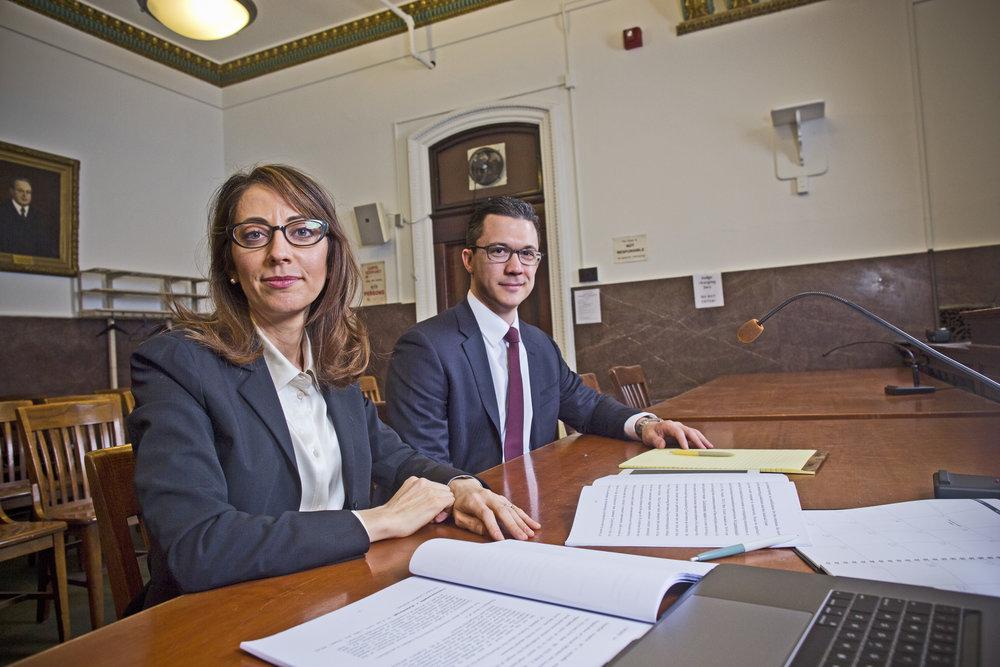 Criminal Defense Lawyers Demetra Mehta and Zak Goldstein