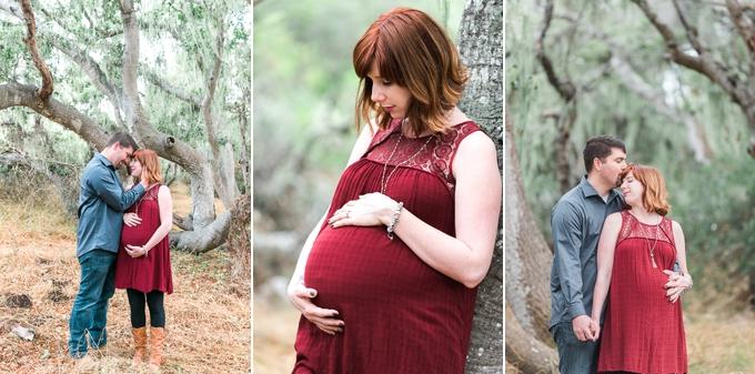 Los Osos Oaks Reserve Maternity Photos