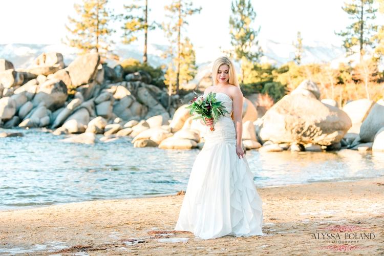 South Lake Tahoe Winter Wedding