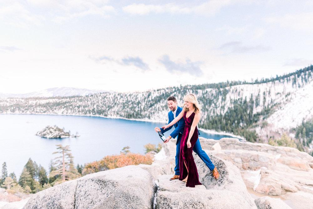 tahoe engagement photographers