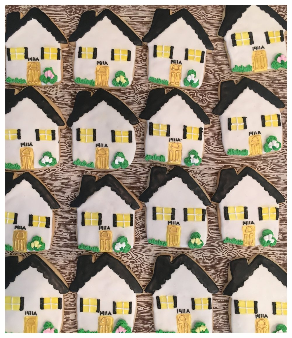 Realty cookies. Home Sweet Home.