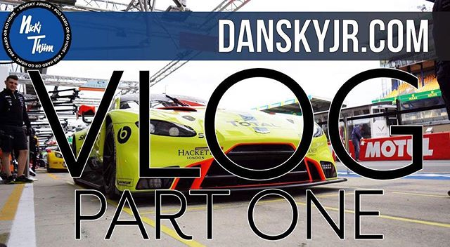 Highlight of the year -  Le Mans 24h already one week away 🏁 The Vlog of @astonmartinracingofficial & my journey is now complete for you to watch 🤘🏽 Click on the link in my BIO & all Episodes will be up for you to watch on this perfect Friday evening 👍🏽😁🏁👍🏽 #astonmartin #danskyjr #nickithiim #gohardorgohome #lemans24 #vlog #my #journey #racing #endurance #vantage #lime #rider #weekend #series #showtime