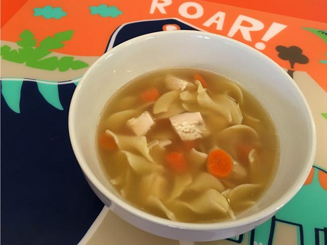 Low Carb Keto Shirataki Noodle Soup RecipeCavemen didn't eat this. ROAR!
