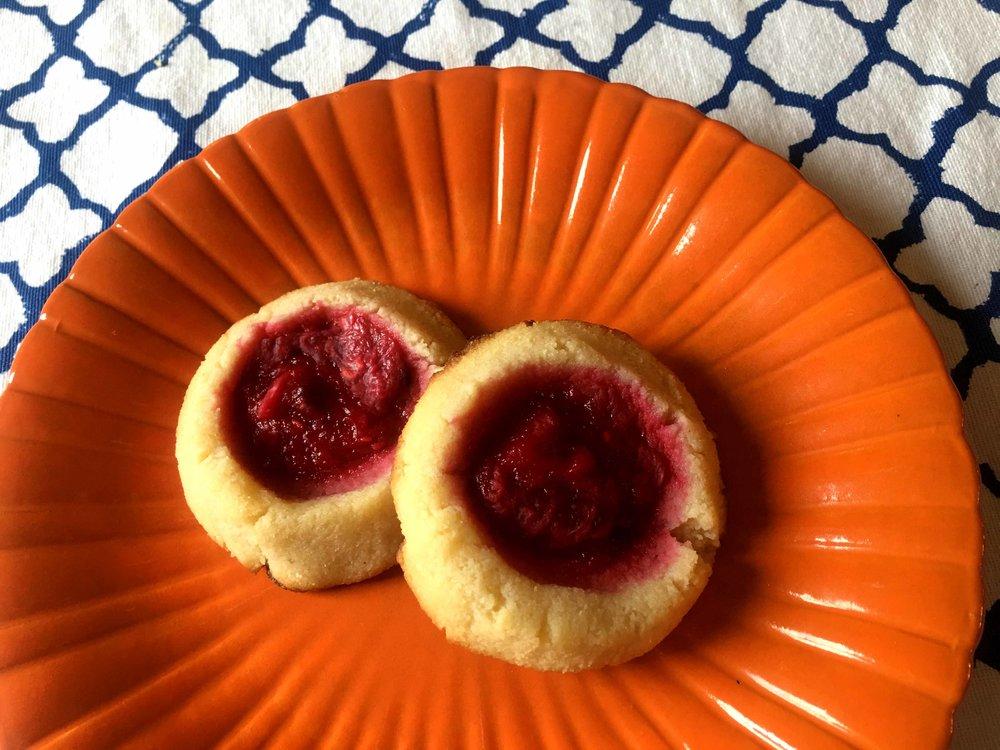 Low Carb Keto Thumbprint Cookie Recipe