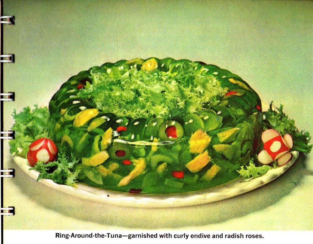 Joy of Jello Ring-Around-the-Tuna Gross Picture