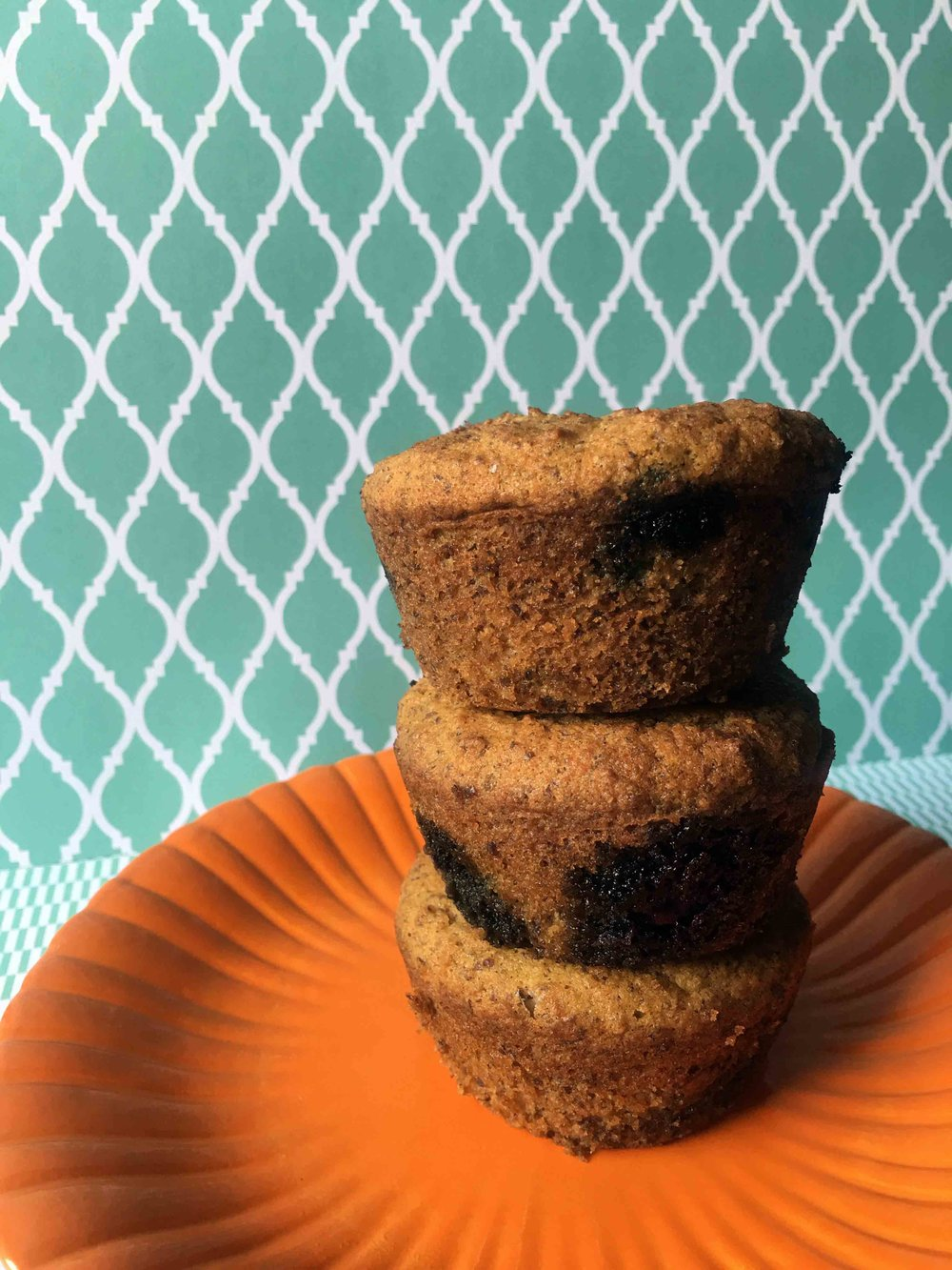Low Carb Blueberry Bran Muffin Recipe