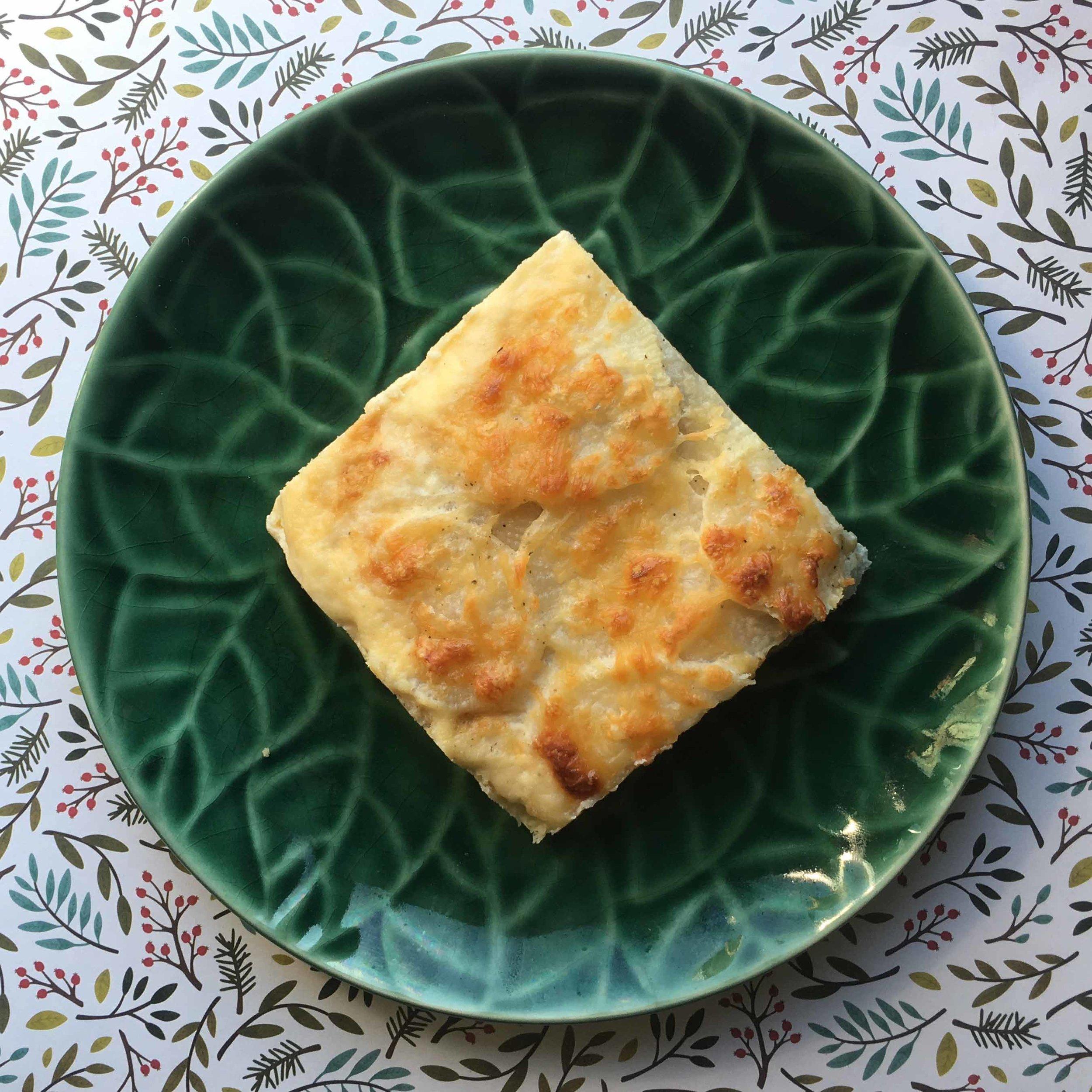 Low Carb Keto Scalloped Daikon Radishes Recipe