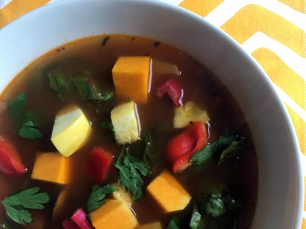Low Carb Keto Vegetable Soup Recipe