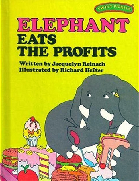 Sweet Pickles Book Elephant Eats the Profits