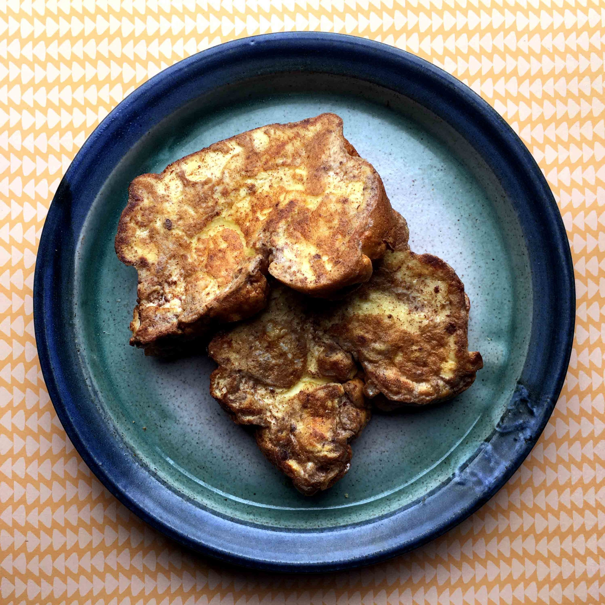 Low Carb Keto Cloud Bread French Toast