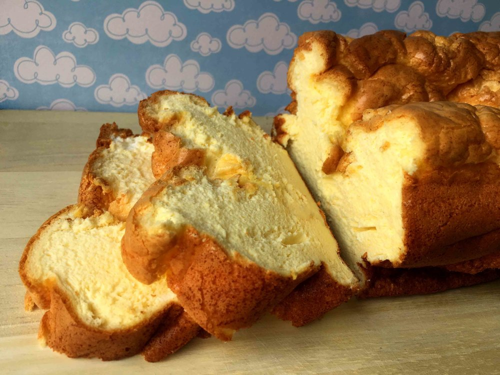 Low Carb Keto Grain Free Cloud Bread Recipe