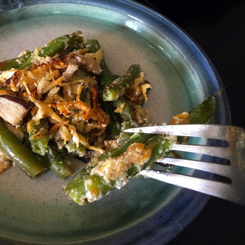 Low Carb Keto Green Bean Casserole Recipe