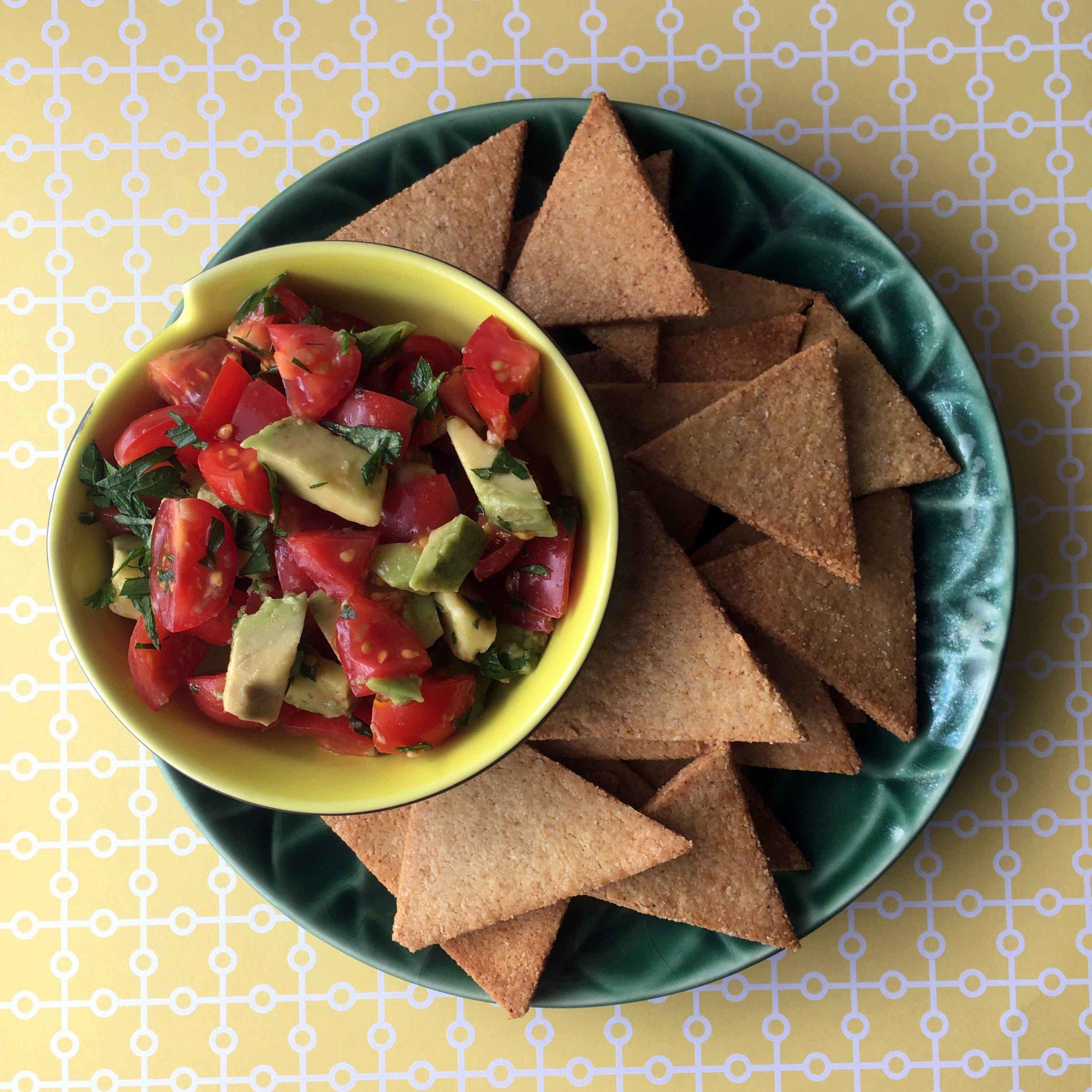 Low Carb Keto Tortilla Chip Recipe