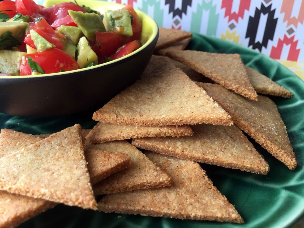 Low Carb Keto Tortilla Chip Recipe