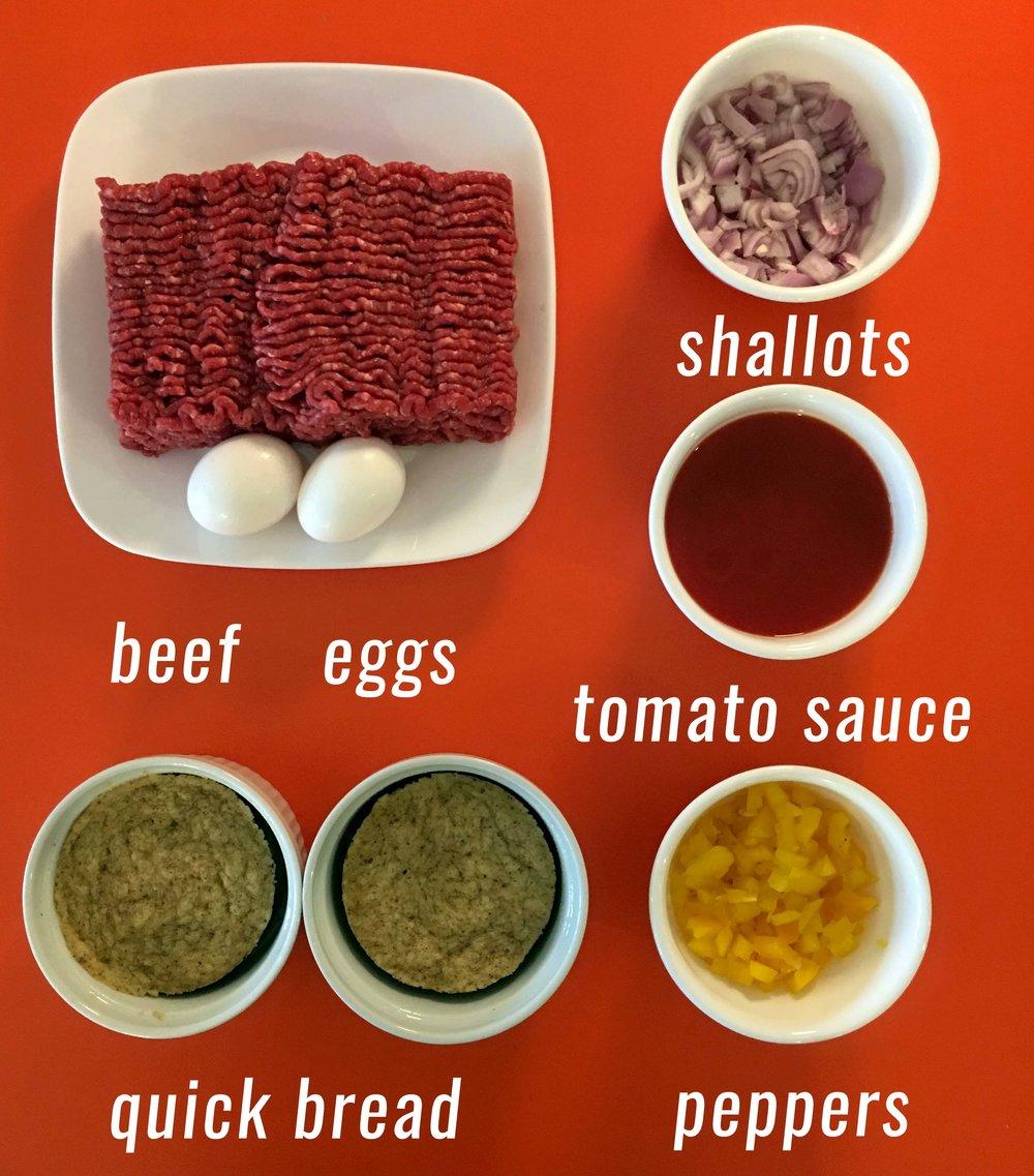 Low Carb Keto Meat Loaf Recipe Ingredients