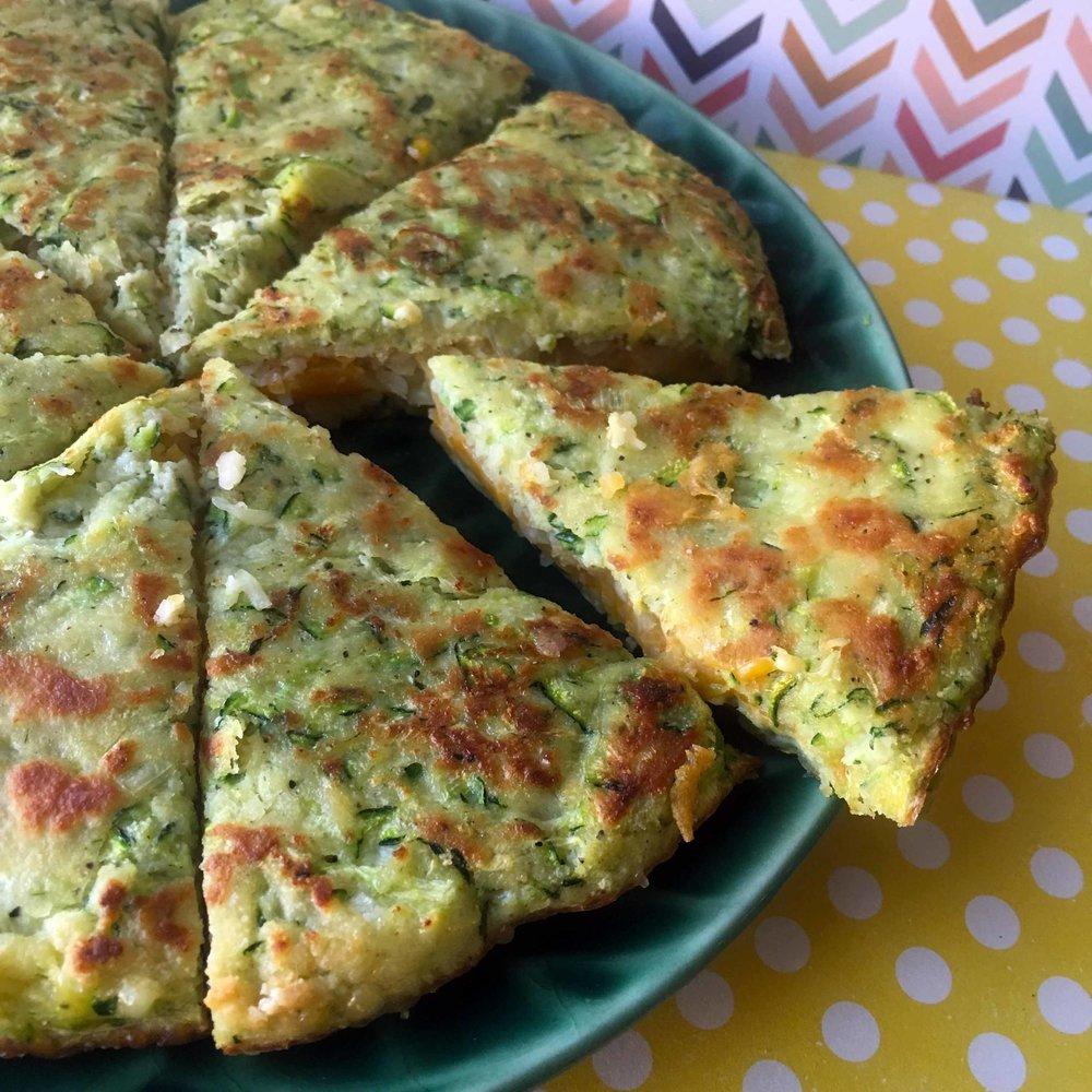 Low Carb Keto Zucchini Quesadilla Recipe