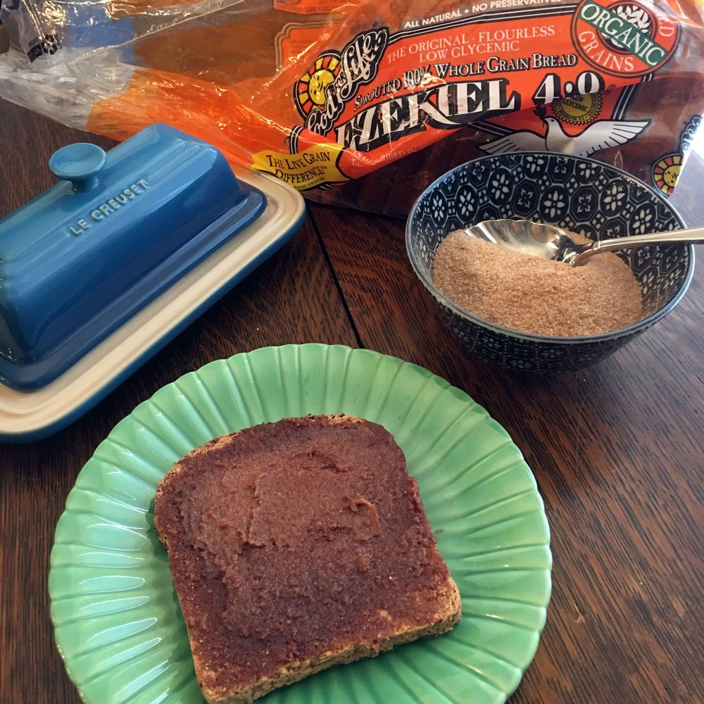 Low Carb Ezekiel Bread Cinnamon Toast Recipe