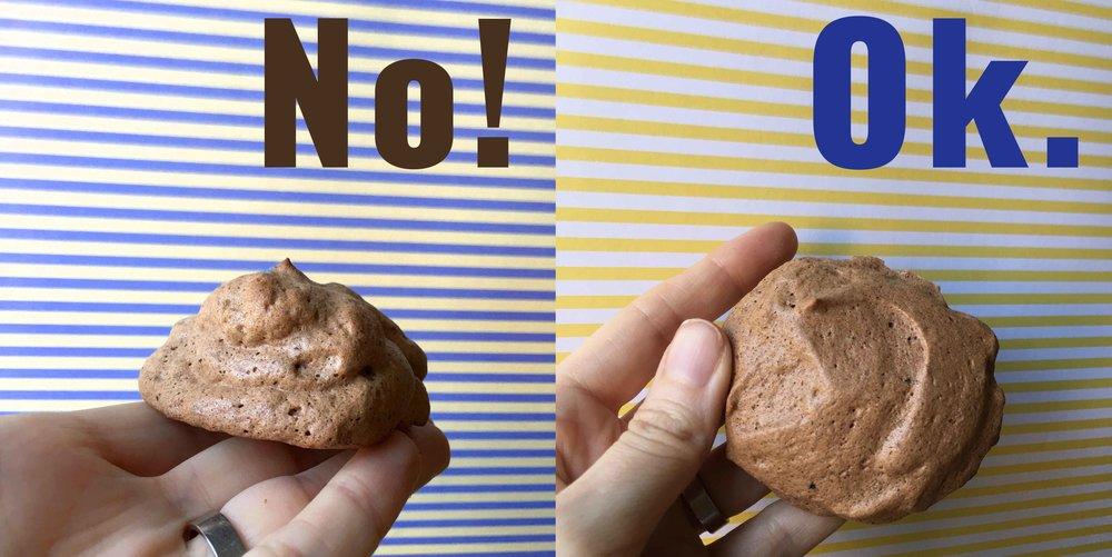 Low Carb Keto Chocolate Meringue Cookie Recipe
