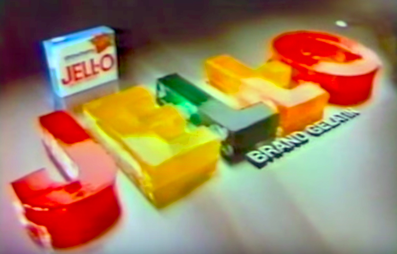 Vintage JELLO TV Commercial