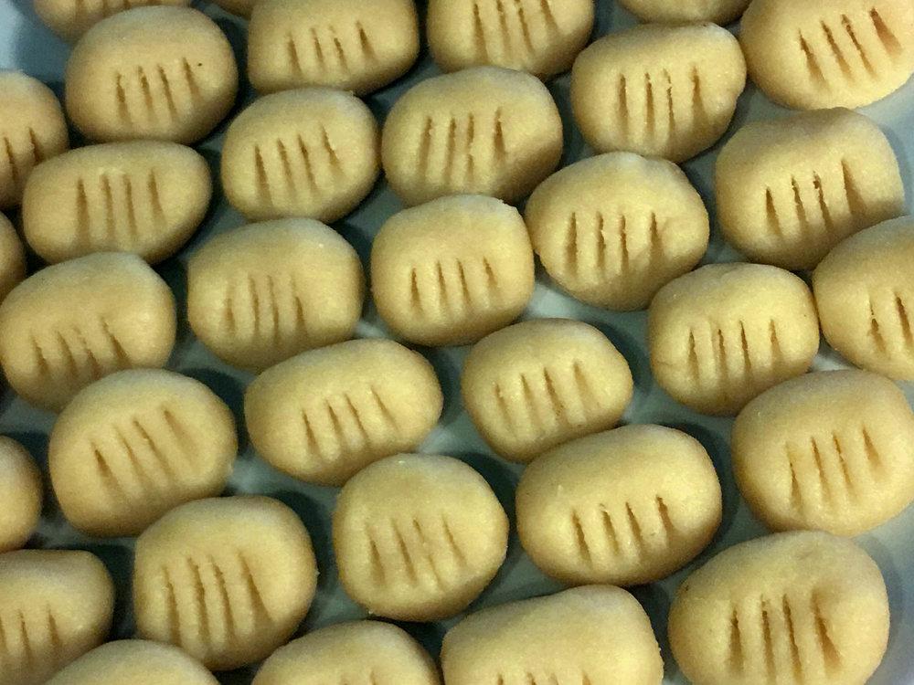 Low Carb Keto Gnoccki with Mushroom Sauce Recipe