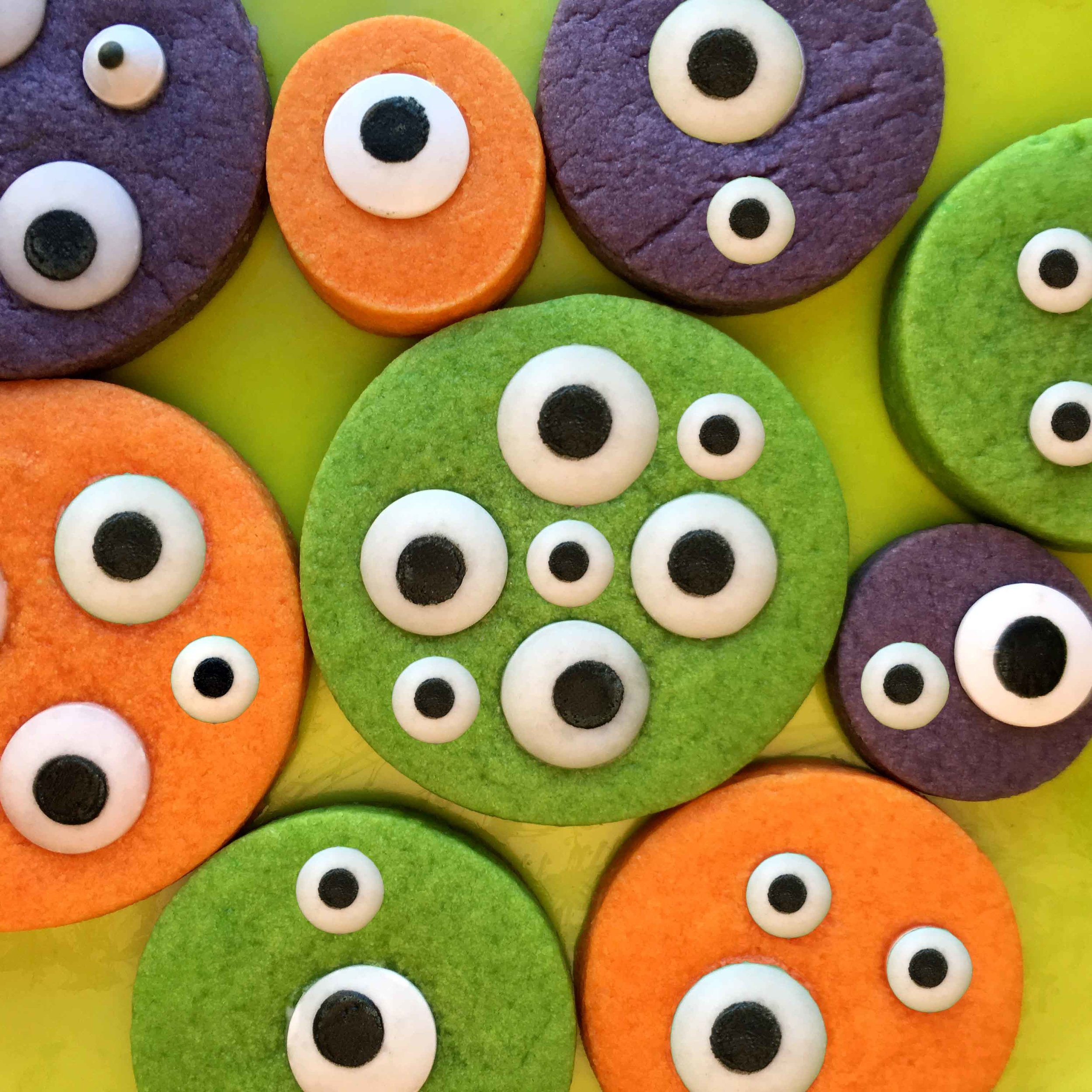 Monster Cookie Recipe for Kid Parties