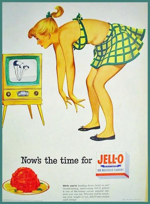 Vintage Jello Advertisement Exercise