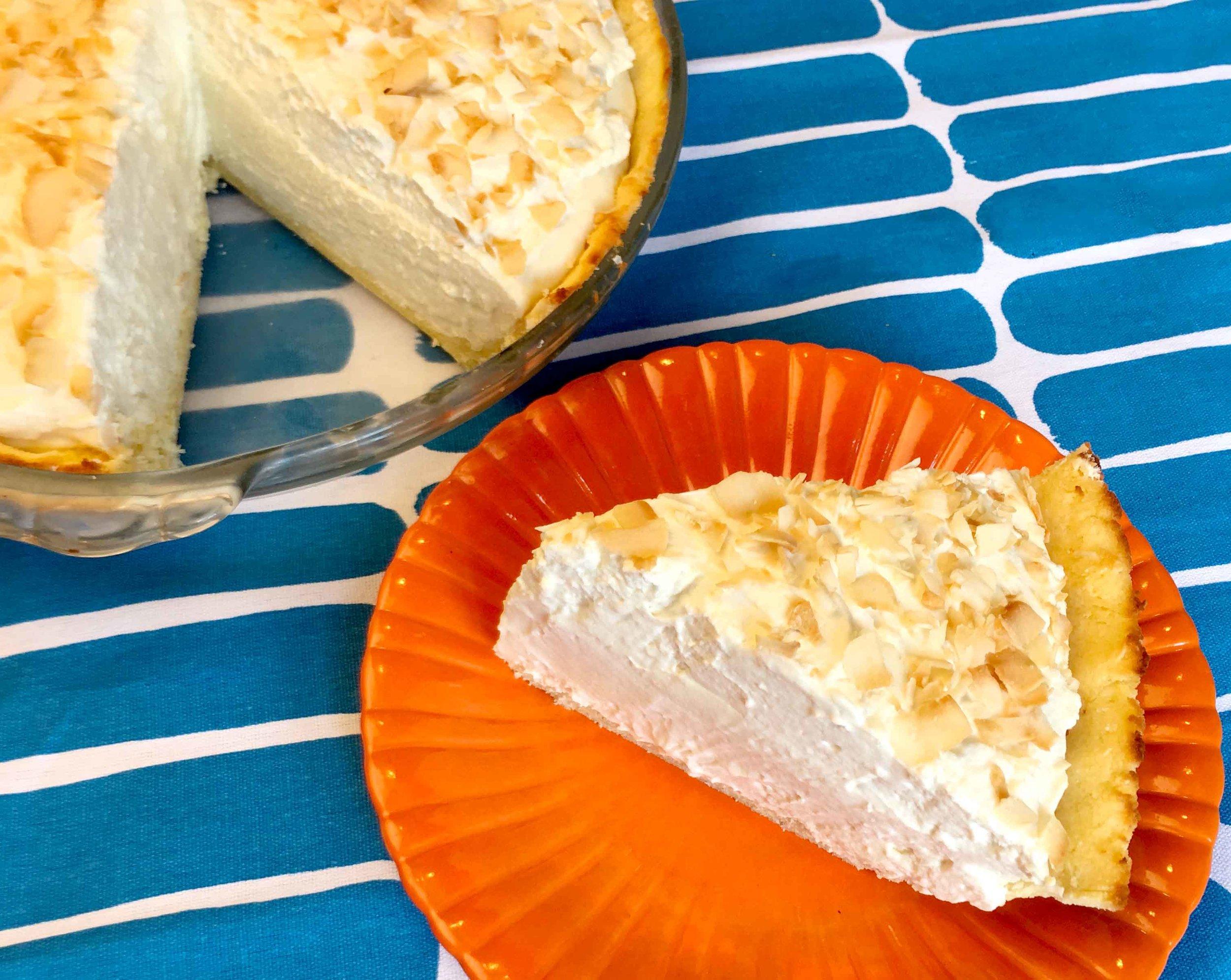 Low Carb Keto Coconut Cream Pie Recipe