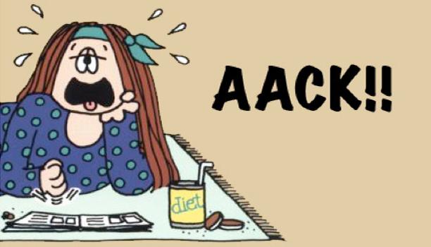 Cathy Cartoon Ack!