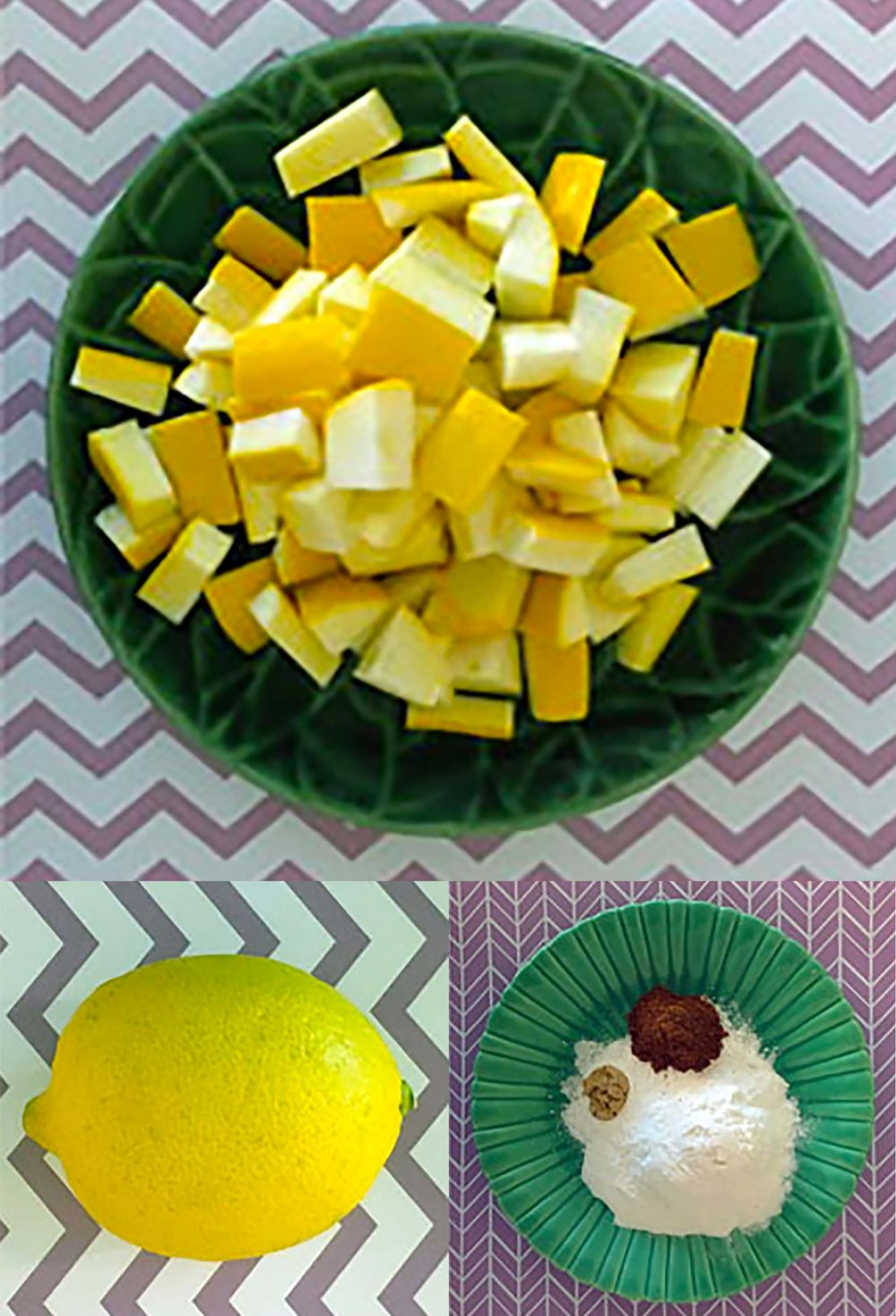 Low Carb Keto Squash Raisins Recipe Ingredients