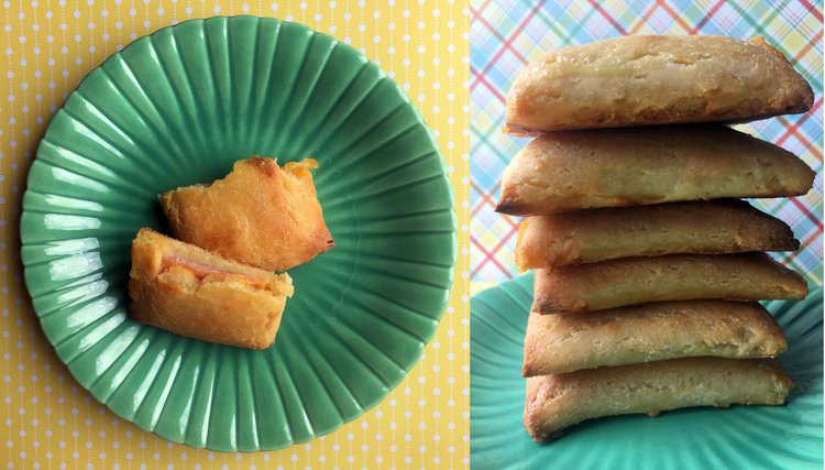 Low Carb Ham & Cheese Pockets