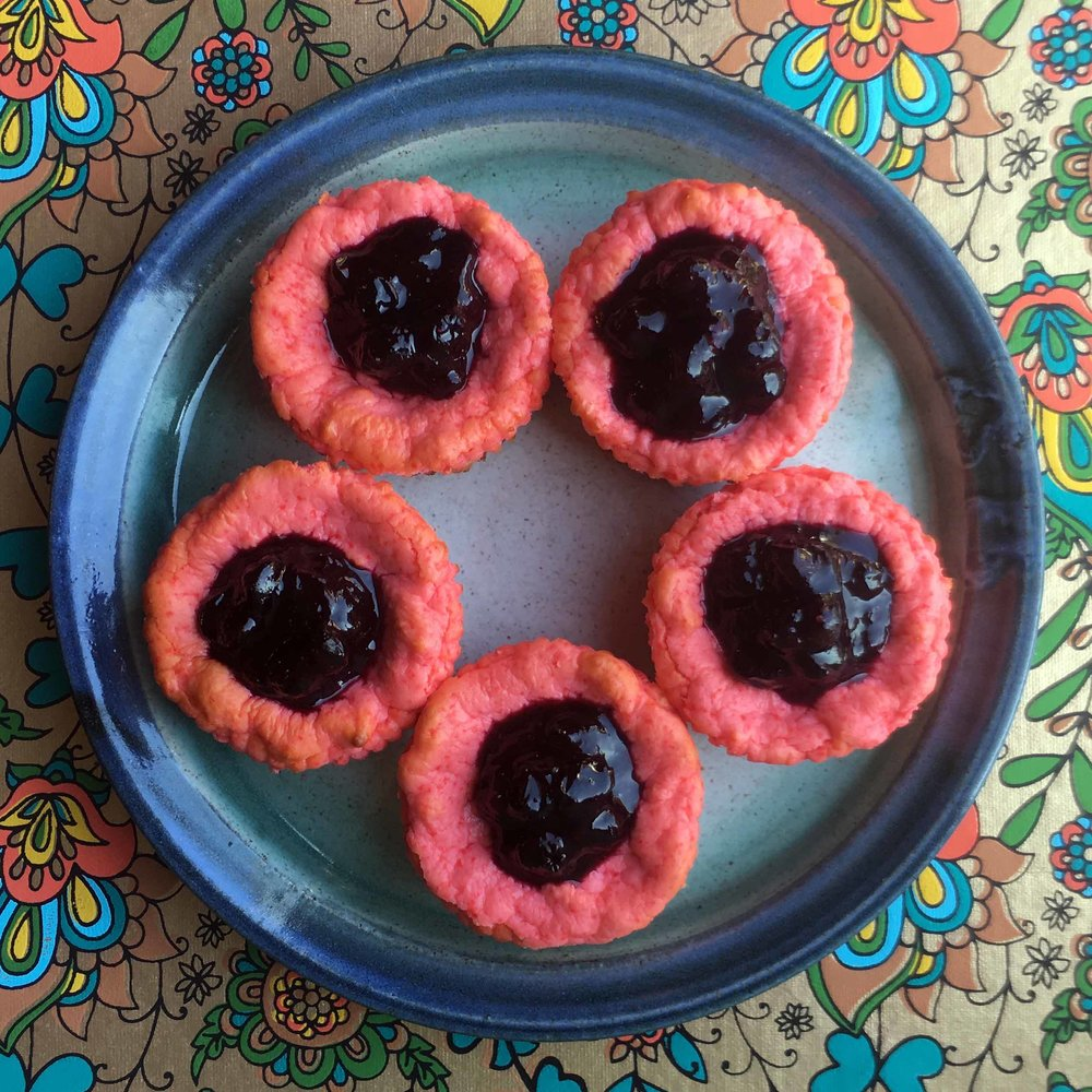 Low Carb Berry Mini Cheesecake Recipe