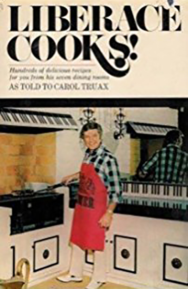 Vintage Liberace Cooks! Cook Book Liberace's Special 15 Minute Eggs Recipe