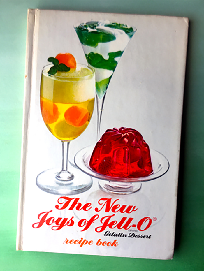 Vintage Cookbook The New Joys of Jell-O
