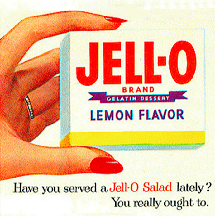 Vintage Jello Ad