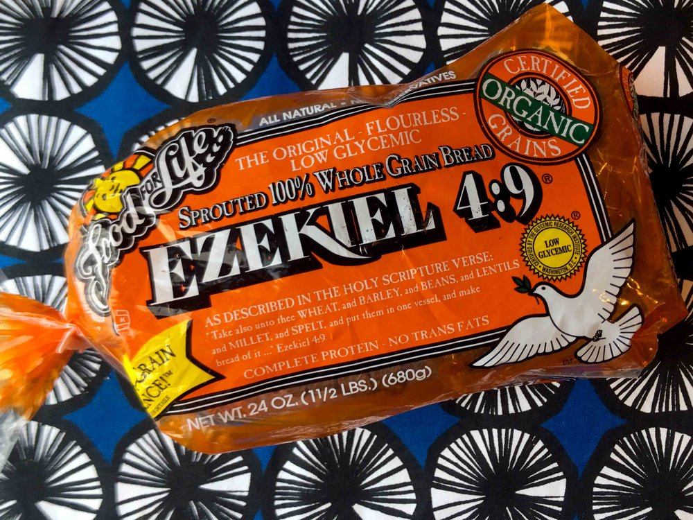 Low Carb Cinnamon Toast Recipe on Ezekiel Bread