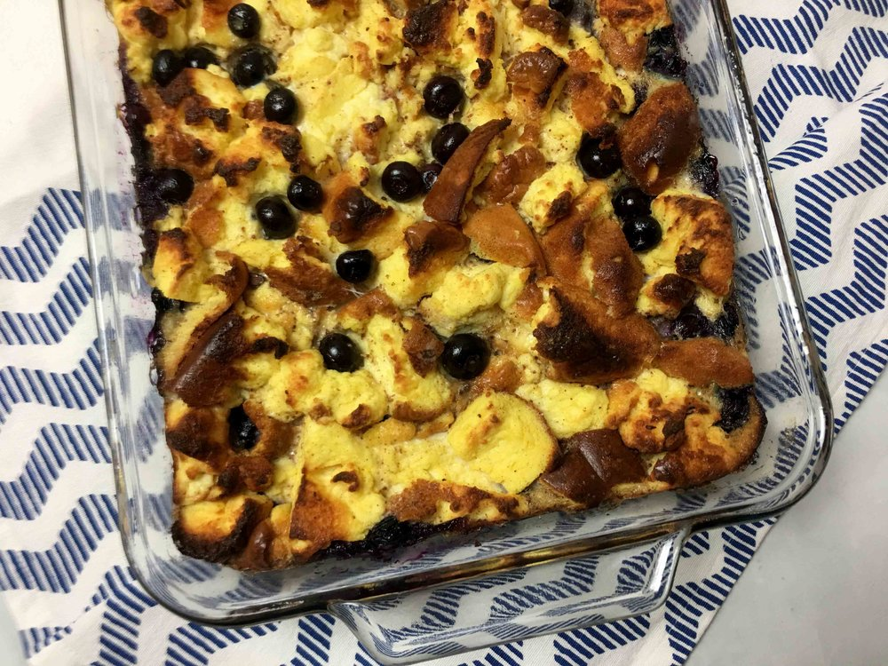 Low Carb Keto Cloud Bread Pudding Recipe