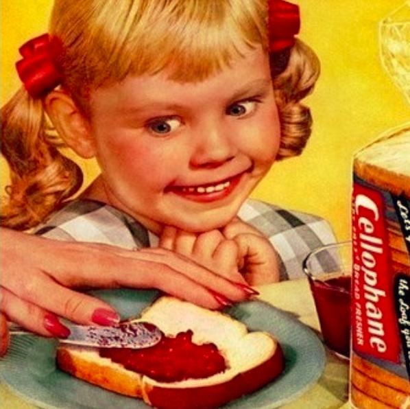 Mmmmmmmm white bread.