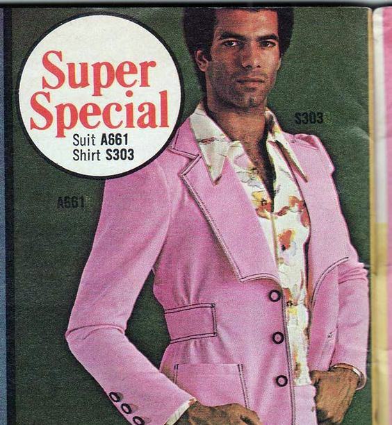 Retro Vintage Sewing Pattern for Menswear
