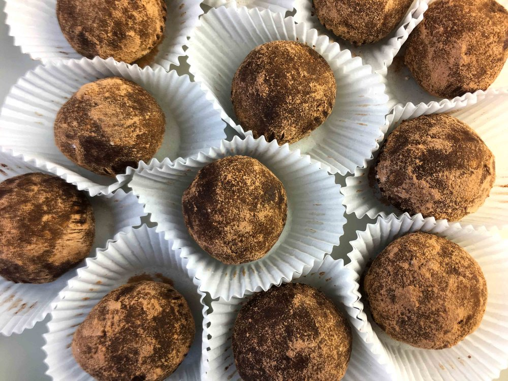 Low Carb Keto Sugar Free Brigadeiro  Brazilian Chocolate Truffles Recipe