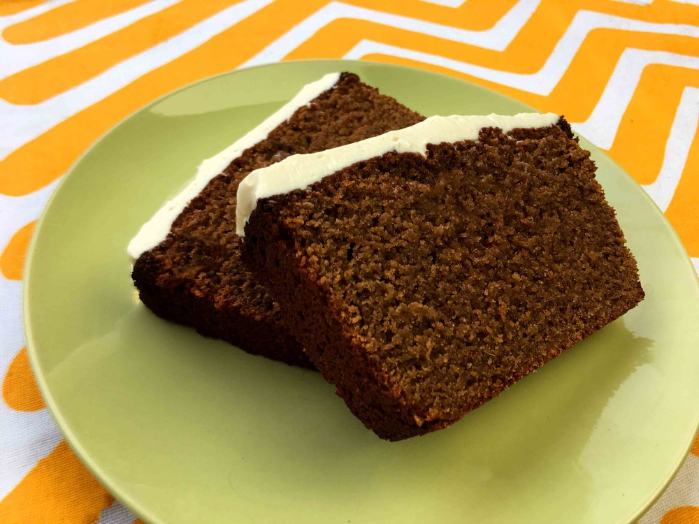 Low Carb Gluten Free Keto Gingerbread Loaf Cake Recipe