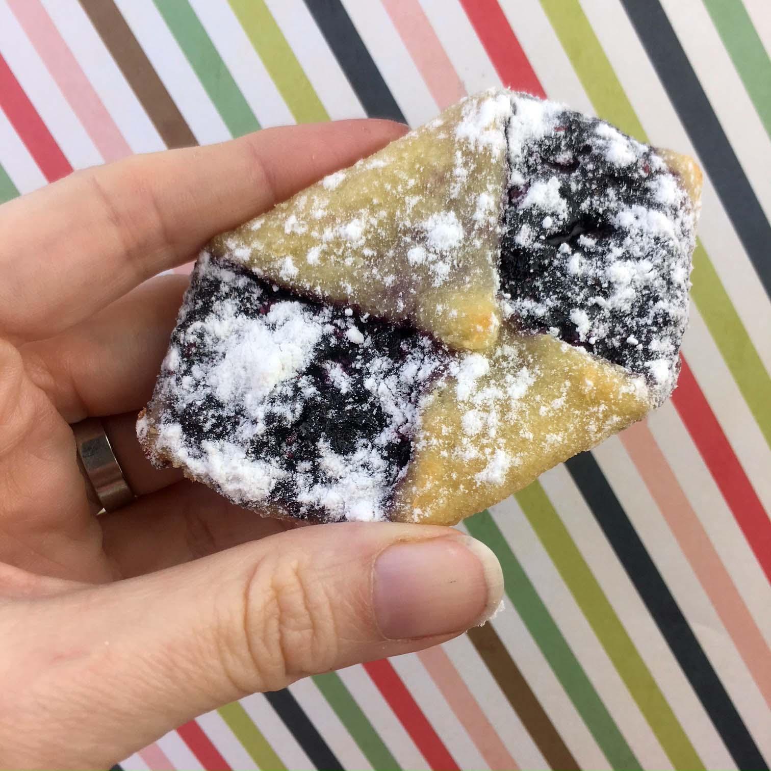 Low Carb Keto Grain Free Gluten Free Fruit Filled Cookie Recipe