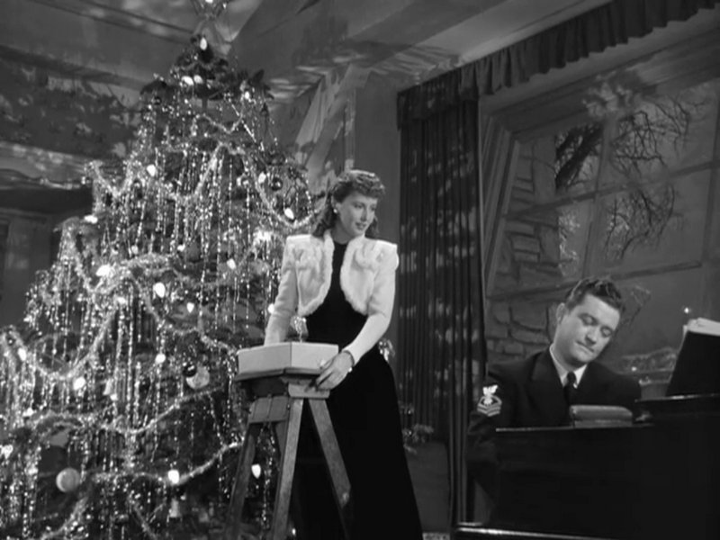Christmas in Connecticut Movie Still Barbara Stanwyck Dean Morgan