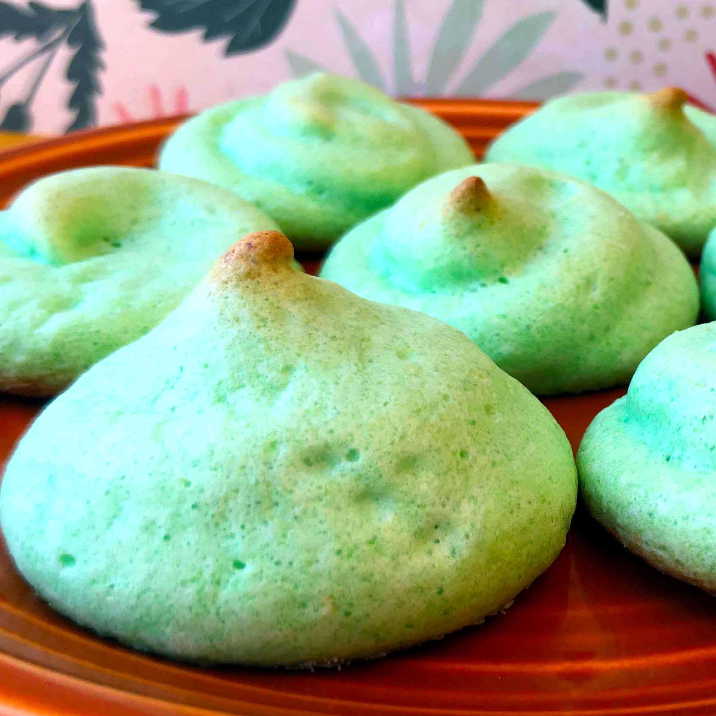 Low Carb Sugar Free Jello Meringue Cookies