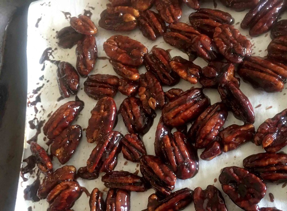 Low Carb Keto Sugar Free Candied Pecan Recipe